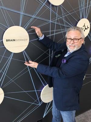 Arne i IBMs kundesenter