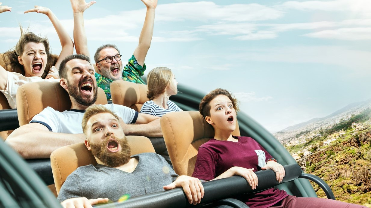 Data-driven and digital journey is like a roller-coaster